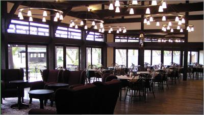 旧食堂(イベントホール)外観