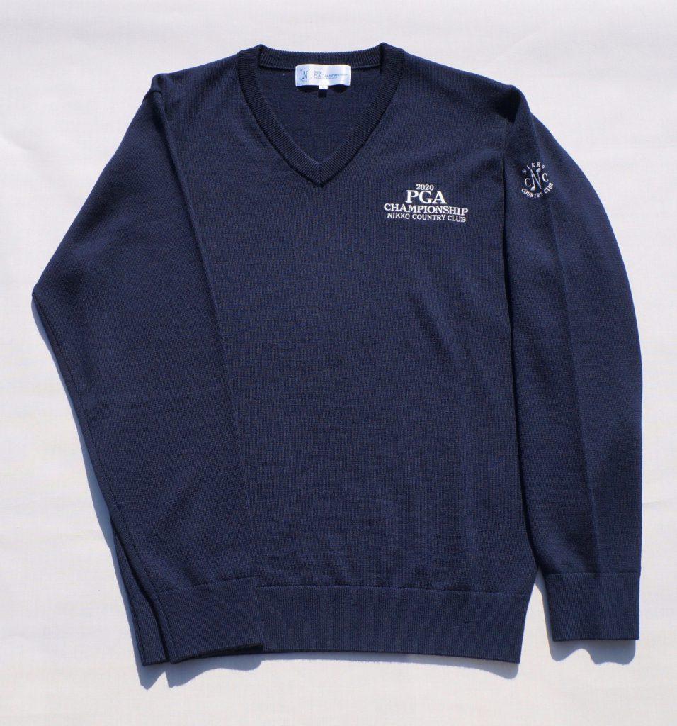セーター(紺)15,400円