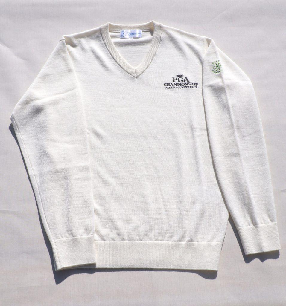 セーター(白)15,400円